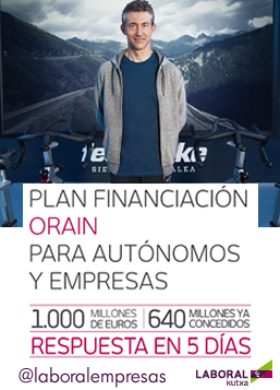 Plan financiacion para autonomos y empresas_Orain_LABORAL Kutxa
